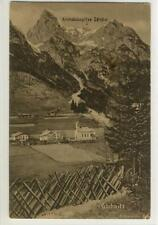 AK Gschnitz, Kirchdachspitze, 1911