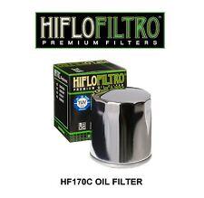HiFlo HF170C Harley Davidson FXRD FXRS FXSTS Springer Chrome Finish Oil FIlter