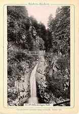 Stengel & Markert, Deutschland, Baden Baden, Allerheiligen Fall  Vintage print.