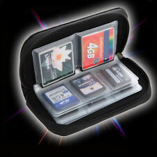 SDHC MMC CF Micro SD Memory Card Storage Carry Pouch Case Holder Wallet CDSVX