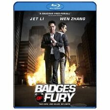 Badges of Fury (Blu-ray Disc, 2014) With Slip Cover Ships Fast!