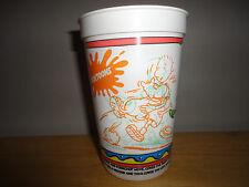 Vintage 1991 PIZZA HUT NICKELODEON Nicktoons DOUG FUNNY Plastic Cup
