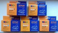 Jetplay ink 5PK 26 XL pour EPSON XP-520 XP-620 XP-610 XP-605 XP-720 XP-825