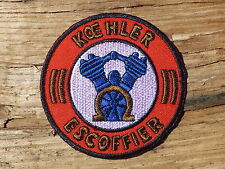 ECUSSON PATCH THERMOCOLLANT aufnaher toppa KOEHLER ESCOFFIER motos course sport