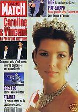 Couverture magazine,Coverage Paris Match 10/07/96 Caroline de Monaco