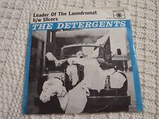 THE DETERGENTS LEADER OF THE LAUNDROMAT/ULCERS  ROULETTE 4590 W/PICTURE SLEEVE