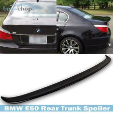 Painted #A35 Monaco Blue BMW E60 5er Sedan A Type Rear Trunk Wing Spoiler