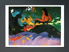 Paul Gauguin Kunstdruck Art Print Poster XXL Angelehnt ans Meer, 1892 By the Sea