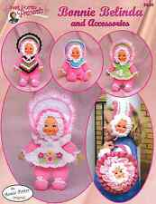 Crochet Bonnie Belinda and accessories crochet doll pattern