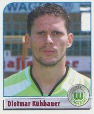 N°477 DIETMAR KUHBAUER # OSTERREICH VfL.WOLFSBURG STICKER PANINI BUNDESLIGA 2002