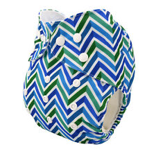 Alva Baby Regular size Adjustable Washable Reusable Cloth Diaper Nappy+1Insert