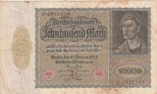 Billet banque ALLEMAGNE GERMANY 10000 M 1922 état voir scan 229
