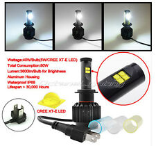 6K/8k/10k H4 CREE LED White Hi/Low Bi-Xenon HID Headlight Motorcycle Light Bulb