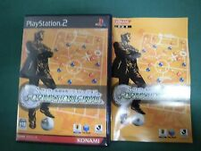 PlayStation2 - FORMATION FINAL Soccer coach simulation - PS2. JAPAN GAME. 39741