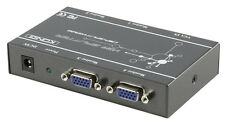REPARTITEUR SWITCH COMMUTATEUR VIDEO VGA  PRO 4 PORTS