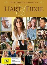 Hart Of Dixie : COMPLETE Season 1-4 : NEW DVD Box-Set