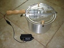 Kit for motorizing a Whirley-Pop Stovetop Popcorn Popper For Roasting Coffee