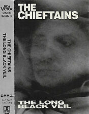 CHIEFTAINS LONG BLACK VEIL CASSETTE ALBUM USA STONES VAN R COODER STING KNOPFLER