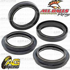 All Balls Fork Oil & Dust Seals Kit For Kawasaki KX 125 1991 91 Motocross Enduro