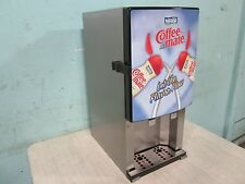 """""""SILVER KING-SKNES2"""" COMMERCIAL REFRIGERATED 2 FLAVORS COFFEE CREAMER DISPENSER"""