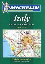 Michelin Italy Tourist and Motoring Atlas: Spiral Edition Michelin Tourist and