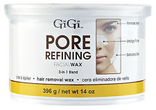 GiGi 0342 GiGi Pore Refining Facial Wax is gentle 3-in-1 facial hard wax  14oz.