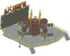LEGO Instructions ONLY of Custom Fairground Ride 'Extreme' **LRUK** MOC