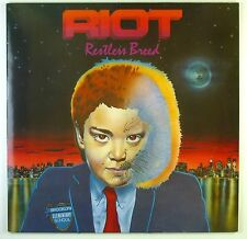 """12"""" LP - Riot  - Restless Breed - C1790 - washed & cleaned"""