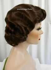 Finger Wave Wig Rose #33 Dark Auburn Quality Fingerwave .. Best Seller *
