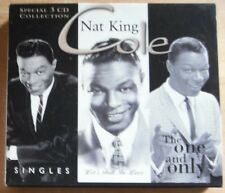 Nat King Cole - Singles / Let's Fall in Love / The One and Only 3xCD Collection