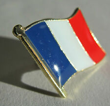 FRANCE Flag Pin Badge High Quality Gloss Enamel