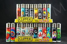 20 pcs Brand New Refillable Full Size Clipper Lighters