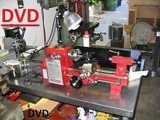 Metal Working Instructional  on a  DVD how to operate~small metal lathe 7 x 10,