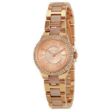 Michael Kors Petite Camille Rose Dial Rose Gold-tone Ladies Watch MK4292
