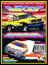Drag Racing IMPORT CARS,  Customs and Show Cars, A Main Event Entertainment DVD