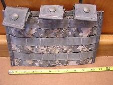 Ammunition Pouch ACU Molle Triple Magazine Pouch 5.56mm M16/M4 8465-01-525-0598