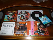 Iron Maiden / Virtual XI JAPAN w/calendar 2CD B3