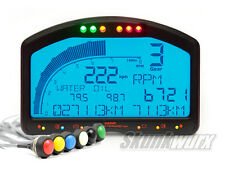 Tecnologia RACE dash2 DIGITALE LCD Pannello Display Unit + Impermeabile pulsante Set