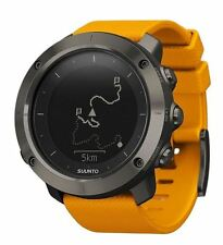 Suunto Traverse Amber GPS Outdoor Watch For Hiking and Trekking  - SS021844000