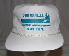 Vintage 38th Annual NWIEBT Eugene Springfield Snapback Cap Hat Snap Back