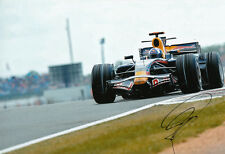 David Coulthard Hand Signed Red Bull Racing Photo 12x8 11.