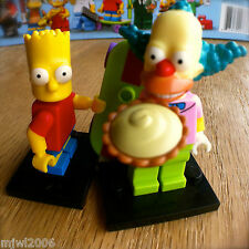 LEGO 71005 THE SIMPSONS Minifigures KRUSTY THE CLOWN & BART SEALED Minifigs 2