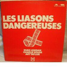 Duke JORDAN, Charlie ROUSE, Art TAYLOR - LES LIASONS DANGEREUSES - LP MINT