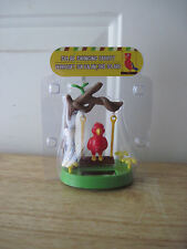 Solar Swinging Parrot on a Swing Hanging from Tree Branch - New in Package!