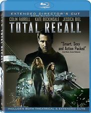 Total Recall (Blu-ray/DVD, 2012, Canadian)