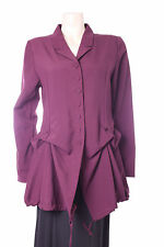 New Purple Jacket Kokomarina Designer Ladies Top Size M Medium