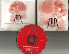 AIR Cherry Blossom Girl & SIMIAN MOBILE DISCO REMIX PROMO DJ CD Single Radiohead