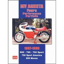 MV Agusta Fours Performance Portfolio 1967-1980 book paper