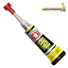 EXTRA STRONG INSTANT SUPER GLUE 2g - WOOD METAL PLASTIC RUBBER DIY x2