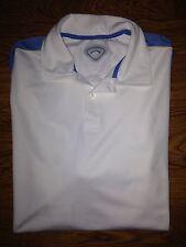 Callaway Golf Mens Mens White Polo Shirt *L*
